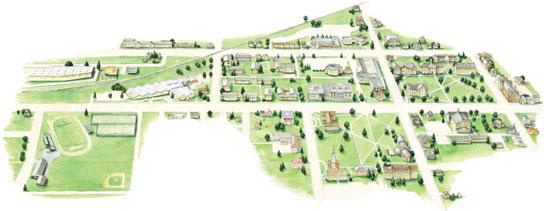 dickinson college campus map Leyden Diversified Artists Alex Forbes dickinson college campus map